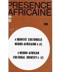 REVUE PRESENCE AFRICAINE N° 98