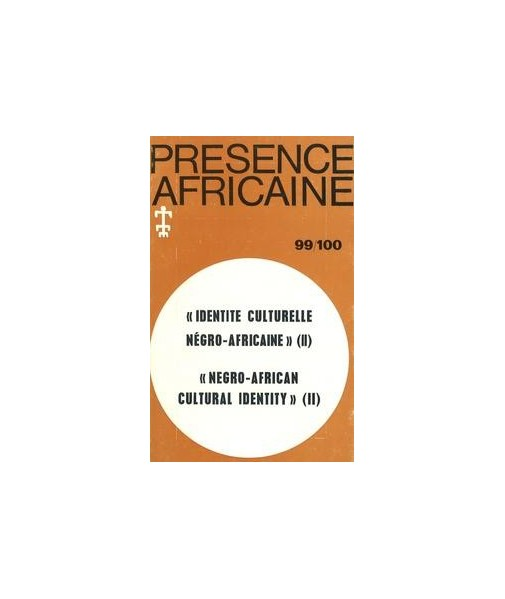REVUE PRESENCE AFRICAINE N° 99