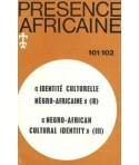 REVUE PRESENCE AFRICAINE N° 101