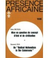 REVUE PRESENCE AFRICAINE N° 108