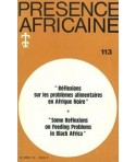 REVUE PRESENCE AFRICAINE N° 113