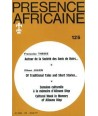 REVUE PRESENCE AFRICAINE N° 125