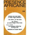 REVUE PRESENCE AFRICAINE N° 126
