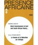 REVUE PRESENCE AFRICAINE N° 140