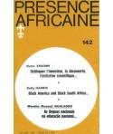 REVUE PRESENCE AFRICAINE N° 142