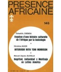 REVUE PRESENCE AFRICAINE N° 145