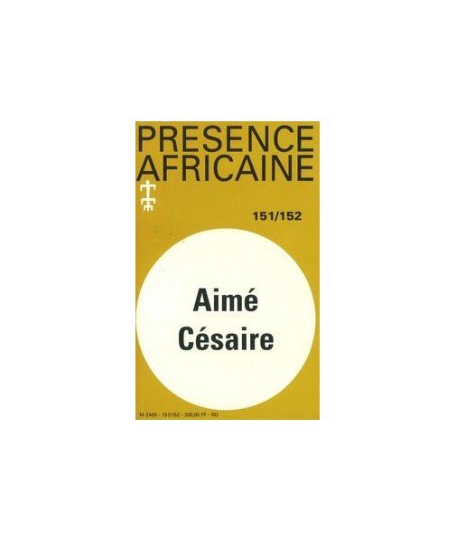 REVUE PRESENCE AFRICAINE N° 151