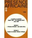 REVUE PRESENCE AFRICAINE N° 153
