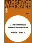 REVUE PRESENCE AFRICAINE N° 157