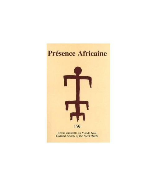 REVUE PRESENCE AFRICAINE N° 159