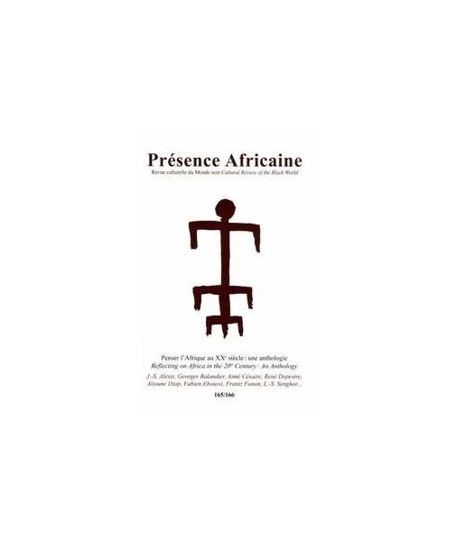 REVUE PRESENCE AFRICAINE N° 165 . 166