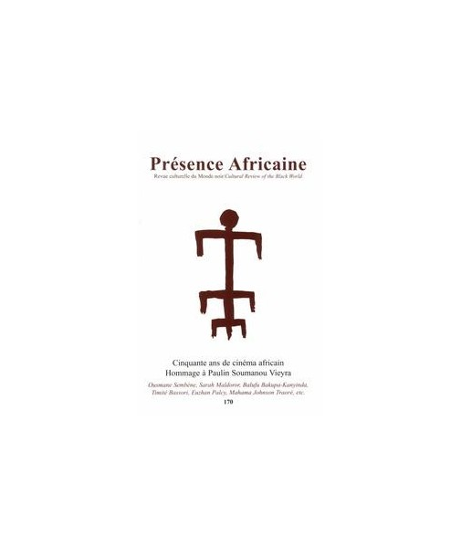 REVUE PRESENCE AFRICAINE N° 170