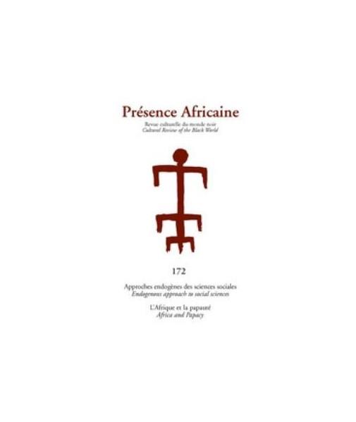 REVUE PRESENCE AFRICAINE N° 172
