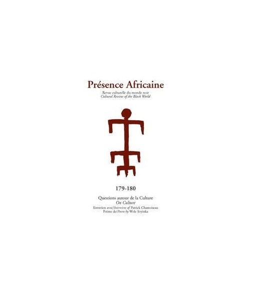 REVUE PRESENCE AFRICAINE N° 179 . 180