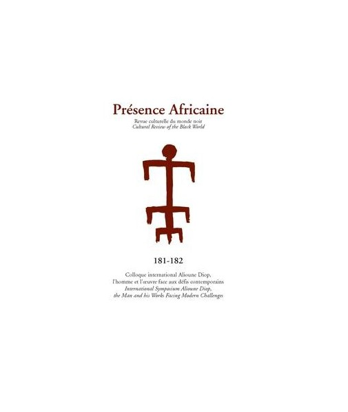 REVUE PRESENCE AFRICAINE N° 181 . 182