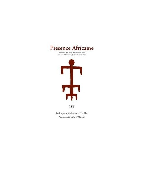 REVUE PRESENCE AFRICAINE N° 183
