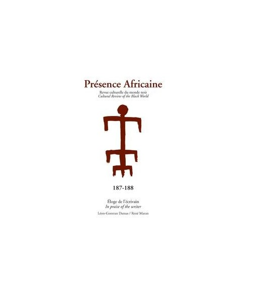 REVUE PRESENCE AFRICAINE N° 187 . 188