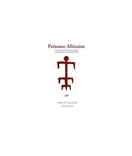 REVUE PRESENCE AFRICAINE N° 189