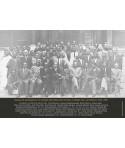 Affiche : photo de groupe des participants du premier congrès des écrivains et artistes noirs (1956)