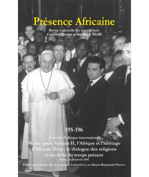 REVUE PRESENCE AFRICAINE N° 195 . 196