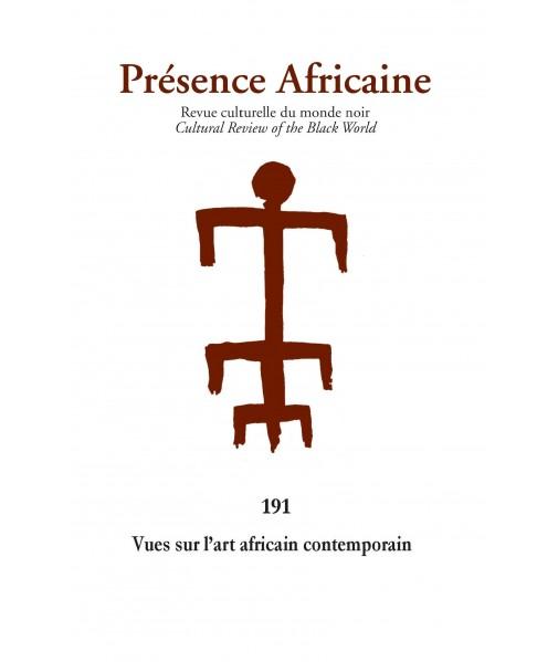 REVUE PRESENCE AFRICAINE N°191